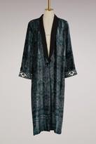 Forte Forte Velvet Ikat print Kimono