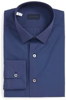 Lanvin Trim Fit Solid Dress Shirt
