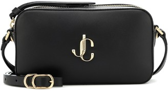 Jimmy Choo Hale leather shoulder bag