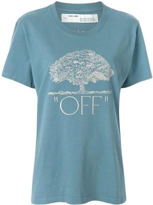 Off-White tree print T-shirt