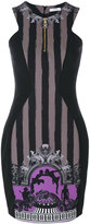 Versace central panel fitted dress - women - Polyester/Spandex/Elastane - 42