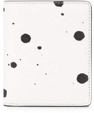 Maison Margiela printed bi-fold wallet