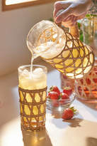 Amanda Lindroth Woven Iced Tea Glass