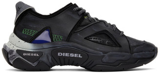 Diesel Black S-Kipper SP Sneakers