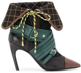 Carven stiletto ankle boots