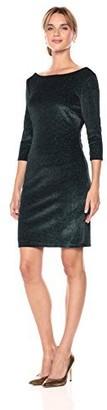 Sangria Women's Sparkle Knit Dress