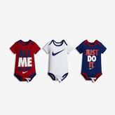 Nike Swoosh Three-Piece Infant Boys' Bodysuit Set