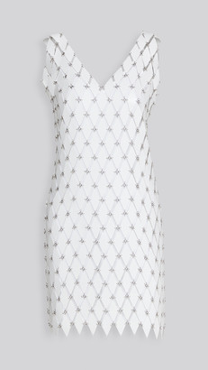 Paco Rabanne V Neck Dress