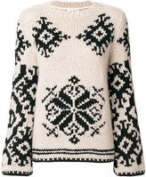 Antonia Zander patterned knit jumper