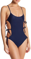 Lovers + Friends Lindsay Side Lace-Up One Piece
