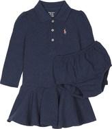 Ralph Lauren Logo cotton dress and under shorts
