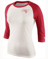 Nike Women's Tampa Bay Buccaneers Tri Victory Raglan T-Shirt