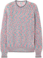 Christopher Kane Mohair-blend Sweater - Light blue
