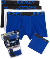 Jockey Men's 3 Pack +1 Bonus Active Stretch Midway Briefs