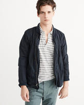 Abercrombie & Fitch Garment Dye Bomber Jacket