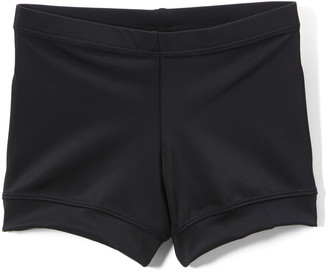 Niva Miche Clothes Niva-Miche Clothes Girls' Active Shorts Black - Black Shorts - Toddler & Girls