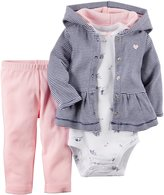 Carter's Baby Girls' 3 Piece Cardigan Set (Baby)