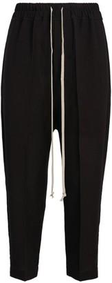 Rick Owens Drawstring Tailored Sweatpants