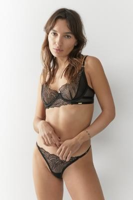 Bluebella Selmar Knickers - Black UK 12 at Urban Outfitters