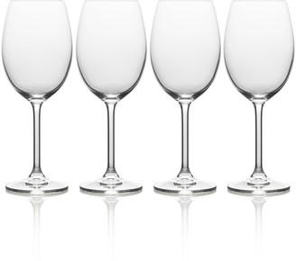 Mikasa Julie 4-pc. White Wine Glass Set