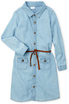 kardashian kids (Girls 4-6X) Chambray Shirt Dress