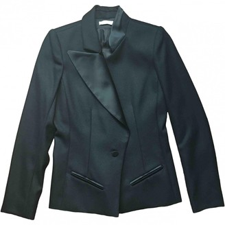 Bouchra Jarrar Black Wool Jackets