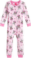 Disney Disney's Minnie Mouse 1-Pc. Cotton Pajamas, Toddler Girls