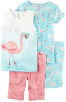 Carter's Girls 4-12 Animals Pajama Set