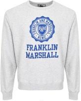 Franklin & Marshall Franklin Marshall Logo Sweatshirt Grey