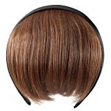 Topro Straight Clip In On Bang Fringe Hair Wig Extension