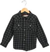 Stella McCartney Boys' Plaid Button-Up Shirt