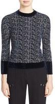 3.1 Phillip Lim Women's Chenille Jacquard Sweater