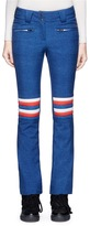 Perfect Moment 'Aurora' quilted stripe flared ski pants