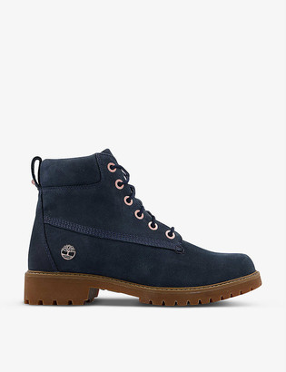 Timberland Slim Premium 6-inch suede boots