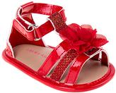 Laura Ashley Red Flower Sandal