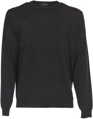 Zanone Green Blend Virgin Wool Sweater