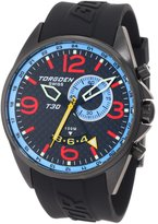 Torgoen Swiss Men's T30303 T30 Series Classic Black Aviation Watch