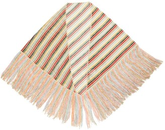 Missoni Striped Metallic Shawl