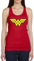 Jackyeah Women's Tank Jackyeah Wonder Logo Printed Womens Tank Tops 100 Cotton