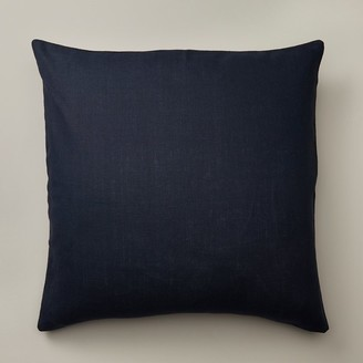 """Indigo Navy Linen Pillow Cover 20"""" X 20"""""""