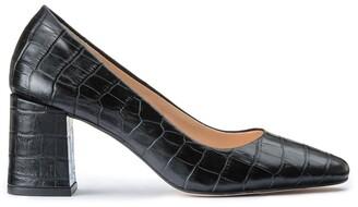 Jonak Crocodile Style Leather Heels