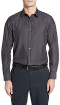 Robert Barakett Laval Herringbone Sport Shirt