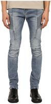 Pierre Balmain Faded Biker Jeans