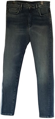 Levi's Made & Crafted Blue Cotton - elasthane Jeans for Women