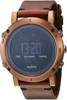 Suunto Men's Essential SS021213000 Leather Quartz Watch