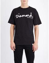 Diamond Supply Co. Script-print Cotton-jersey T-shirt