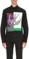 McQ by Alexander McQueen Geometric Swallow cotton shirt