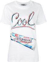 Jeremy Scott 'cool' print T-shirt - women - Cotton - S