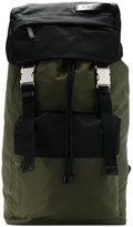 Marni bi-coloured nylon backpack - men - Polyamide - One Size