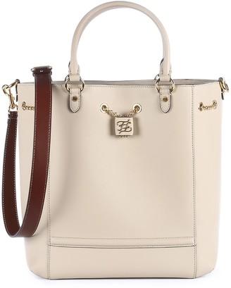 Fendi FF Plaque Drawstring Bucket Bag
